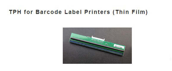 TPH for Barcode Label Printers (Thin Film)
