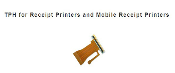 TPH for Receipt Printers and Mobil Receipt Printers