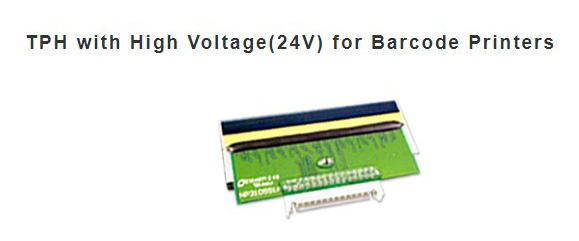 TPH with High Voltage (24) for barcode printers