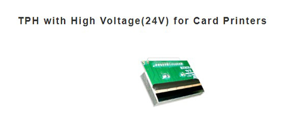 TPH with High Voltage (24) for card printers